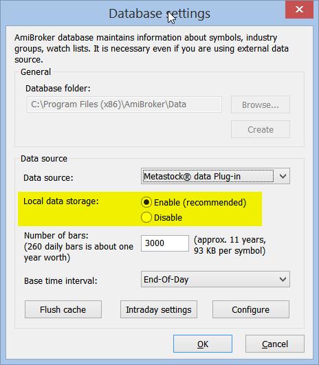 Data – AmiBroker Knowledge Base